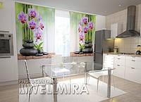 Фотоштора Орхидеи и камни