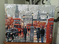 Картина по номерам Turbo Очарование лондона Худ МакНейл Ричард VP441