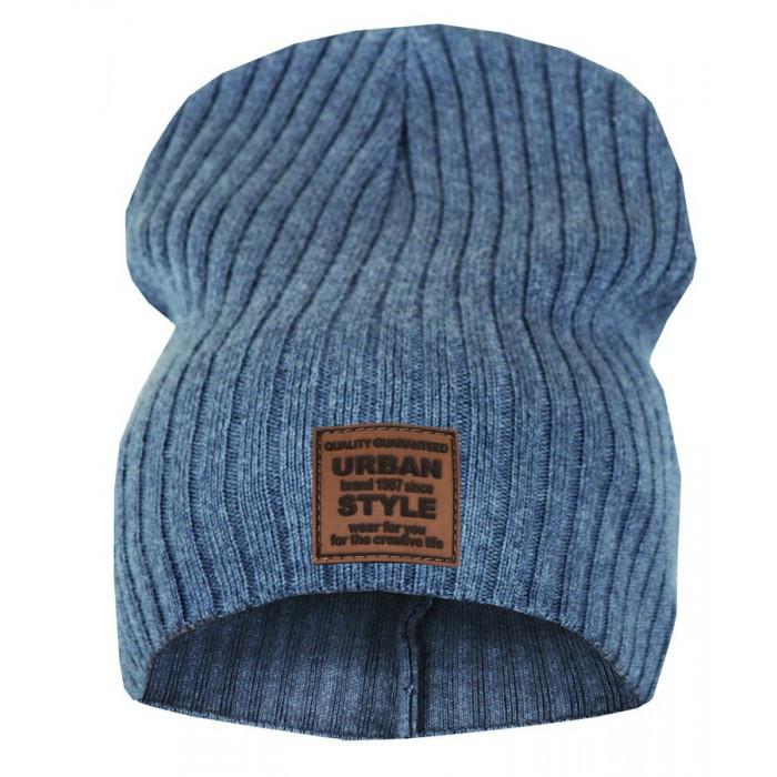 Детская шапочка для мальчика Style, хлопок, тонкая вязка (р.50-54)