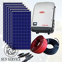 """Сонячна електростанція 20kW під """"Зелений тариф"""", комплект оптимальний"""