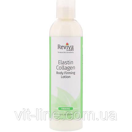 Reviva Labs, Лосьйон для зміцнення шкіри тіла з еластином і колагеном, (236 мл), фото 2