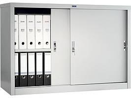 Шафа архівна металева купейного типу Практик АМТ 0812 (з розсувними дверима)  832(в)х1200(ш)х458(гл)