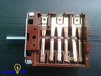Переключатель на электроплиту 6 контактов, ST 217