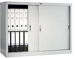 Шафа металева архівна купейного типу Практик АМТ 0891 (розсувні двері) 832(в)х915(ш)х458(гл)