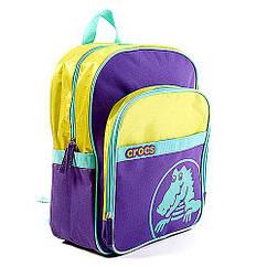 Рюкзак шкільний CROCS фіолетовий Крокс Оригінал