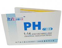 Лакмусовий папір, 80 шт. тест-смужок (тест pH), фото 1