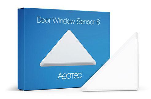 ZW112, Aeotec, Door / Window Sensor 6, датчик відкриття дверей/ вікна, білий