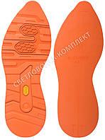 Резиновая подошва/след для обуви BISSELL BL-23, цв. морковный, размер 38-39