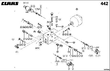 VALVE BLOCK; AUTO-CONTOUR - CLAAS TUCANO 330 / 320