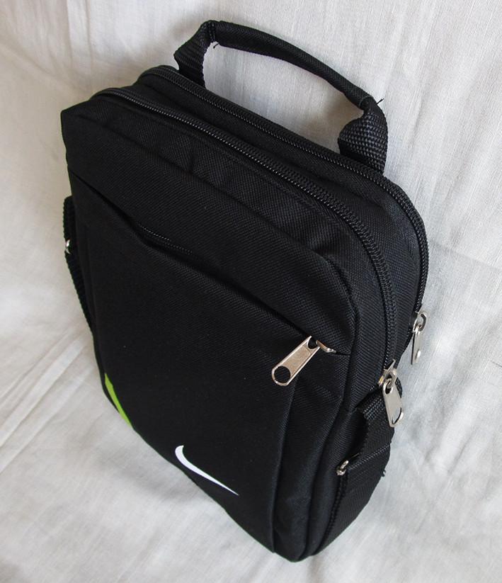 63b3a1d9a4c8 Мужская сумка через плечо барсетка спортивная черная с лайм 26х21х8см, цена  178 грн., купить в Харькове — Prom.ua (ID#679971723)