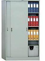 Шафа архівна металева Практик АМТ 1812. Тип дверей - купе (розсувні) 1830(в)х1200(ш)х458(гл)
