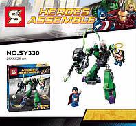 Конструктор Супергерои, робот, 207дет.  SY330