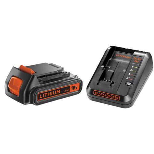 Зарядное устройство BLACK+DECKER BDC1A15 (США/Китай)