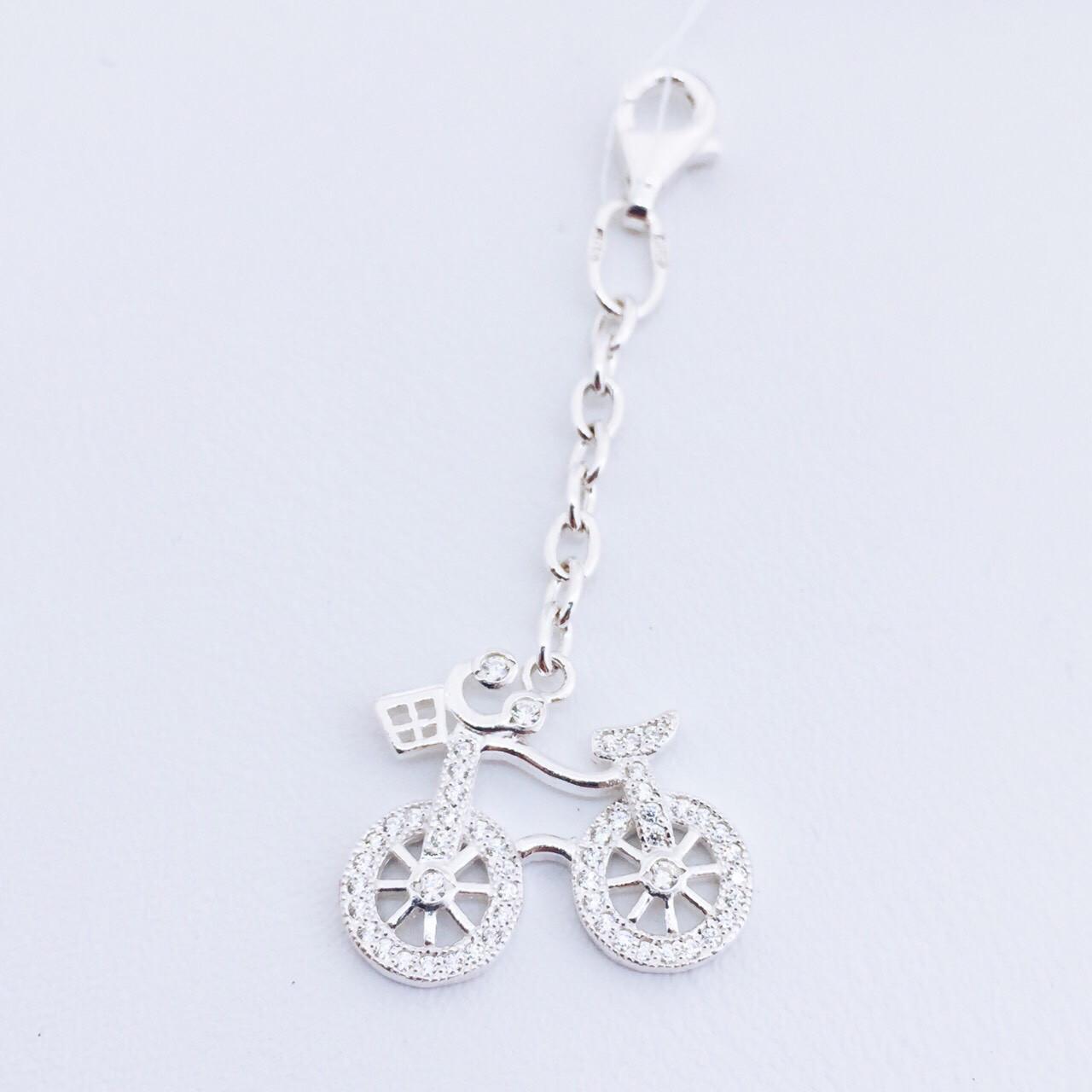Серебряный сувенир велосипед