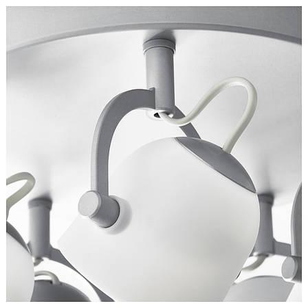 СВИРВЕЛЬ Потолочный светильник, 5 ламп 00304493 IKEA, ИКЕА, SVIRVEL, фото 2