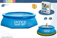 Бассейн 244x76 см, Easy Set, Intex 28110/56970