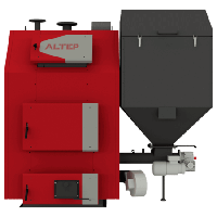 Промышленный пеллетный котел с автоподачей топлива Альтеп TRIO Pellet (КТ-3Е-SH) 200