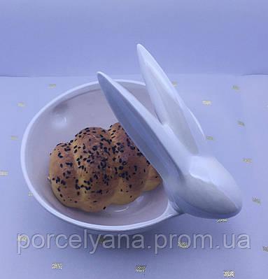 Керамическая салатница заяц 14 см Ewax 111710