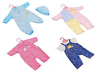 "Одежда для куклы ""Baby Born"" на вешалке, DBJ-1/23 / 42A / 432 / 4AB / 5/9"
