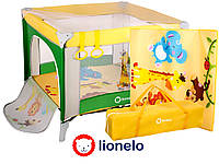 Дитячий манеж Lionelo Stella Green/ Yellow Польща