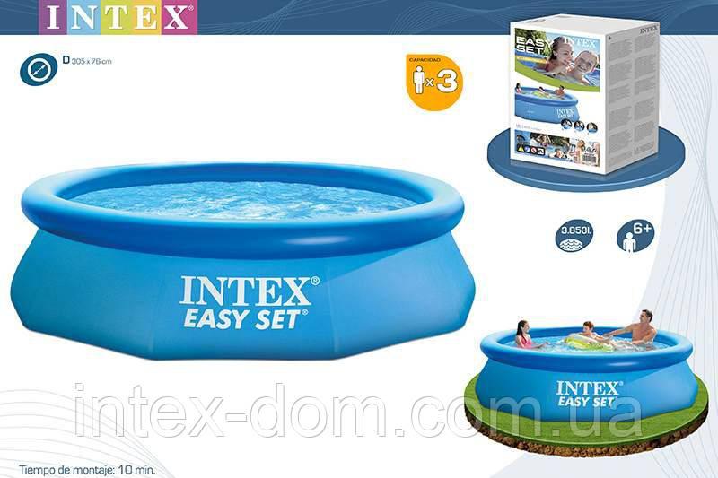 Бассейн 305x76 см, Easy Set, Intex 28120/56920