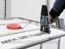печать по пластику, канистре, баку - ручной маркиратор EBS-260 от ЭОС Профи