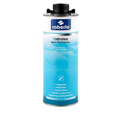 Антигравий на водной основе ROBERLO HIDROTEX черный, 1кг