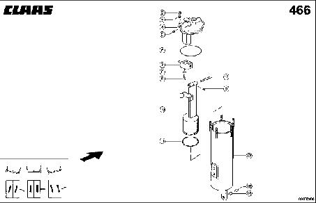 УПРАВЛЕНИЕ 3-D - CLAAS TUCANO 330 / 320