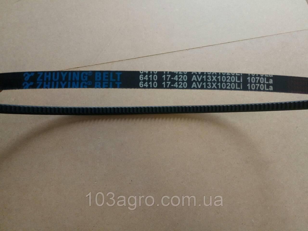 Ремінь генератора AV13x1070La Dong Feng 240/244/250/254