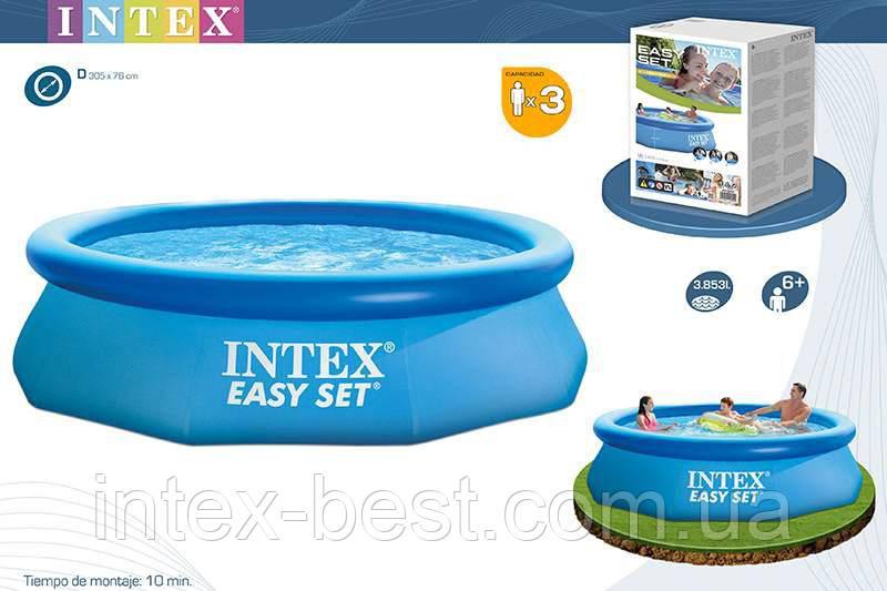 Intex 28120 - надувной бассейн Easy Set 305x76 см