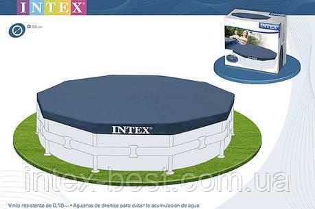 Тент для каркасных бассейнов Intex 28031  (366 см. ), фото 2