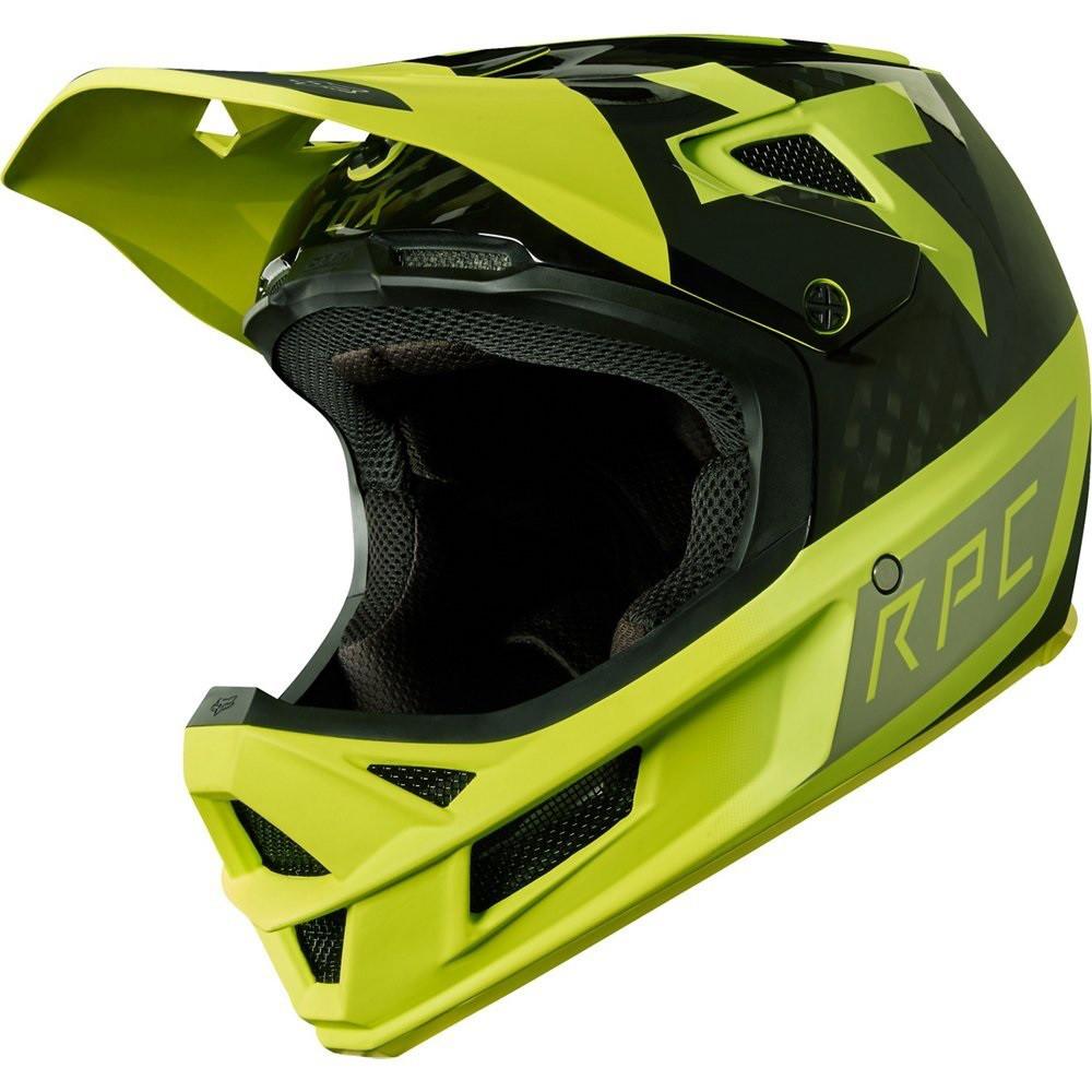Вело шолом Fox Rampage RPC Preest жовтий чорний, L