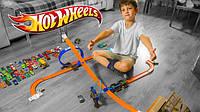 Игровые наборы автотреки, гаражи, паркинги для мальчика