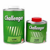 Прозрачный лак Challenger CL250 HS (1л) + отвердитель CL640 (0,5л)