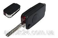 Корпус выкидного ключа 1кнопка Mercedes W168 W202 W208 W210 Лезо HU 64
