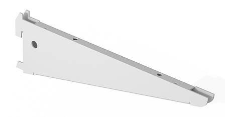 Двойной кронштейн 306 мм (белый). Консольная система хранения. Кольчуга, фото 2