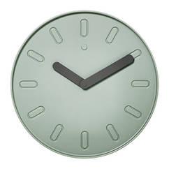 Часы IKEA SLIPSTEN 35 см зеленые 803.587.74
