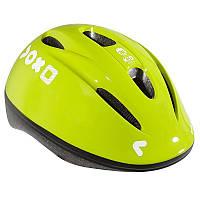 Велошлем детский B'TWIN лимонный флуорисцентный
