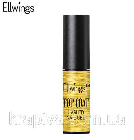 Гель лак Ellwings ТОП покрытие, топовый слой, топ слой