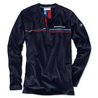 Мужской лонгслив BMW Motorsport Long-Sleeve Shirt men (80142285841) | футболка БМВ