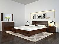 Кровать Arbordrev Дали Люкс без ПМ (140*190) бук, фото 1