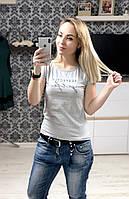 Женская футболка 100% котон. Турция. , фото 1