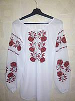 """Женская шифоновая блузка вышиванка """"Узор 14"""""""