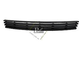 Решетка радиатора ВАЗ 1118 Калина черная (4 полосы) (пакет)