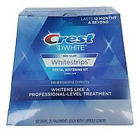 Crest 3D White отбеливающие полоски для зубов Professional Effects Whitestrips (40+4шт) США