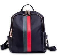 Рюкзак в стиле Gucci женский черный