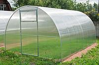 Теплица арочная 3х4х2 в сборе с премиум поликарбонатом 4 мм