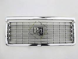 Решетка радиатора ВАЗ 2107 хром (с эмблемой) (пакет)