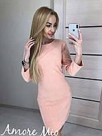 Женское шикарное замшевое  платье (расцветки), фото 1