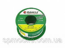 Припой BAKU BK-10004, Sn 97% ,Ag 0.3%, Cu 0.7%, Flux 2%, 0,4mm, 50g